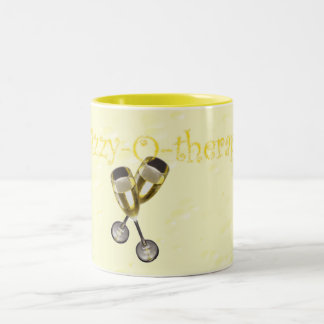 Fizzy-o-therapy Bubbles Two-Tone Mug