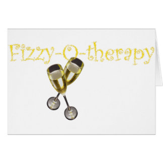 Fizzy-O-therapy Greeting Card