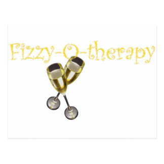 Fizzy-O-therapy Postcard