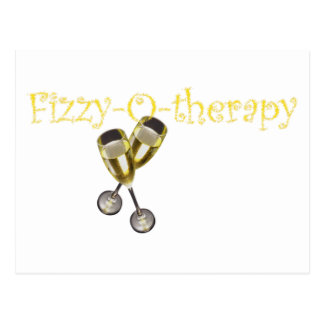 Fizzy-o-therapy Postcard