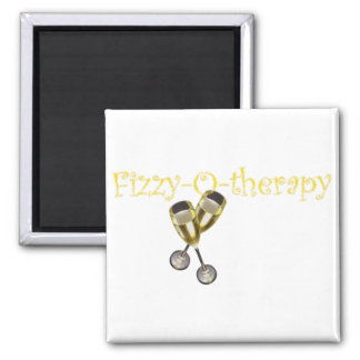 Fizzy-O-therapy Square Magnet