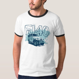 FJ40 Landcruiser Shirt Teal Graphic Shirt