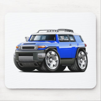 Fj Cruiser Blue Car Mouse Pad