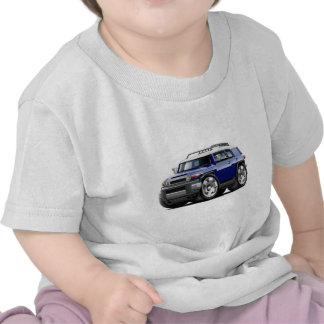 Fj Cruiser Dark Blue Car Tshirts