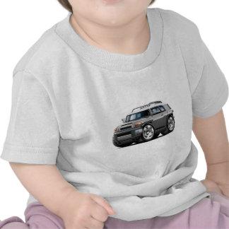 Fj Cruiser Grey Car T-shirts