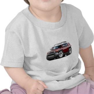 Fj Cruiser Maroon Car Tee Shirts