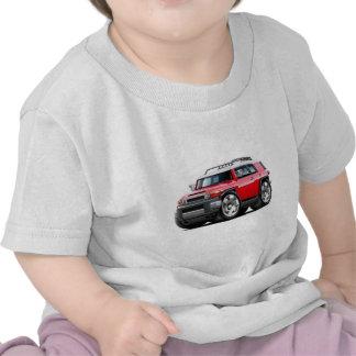 Fj Cruiser Red Car T Shirts