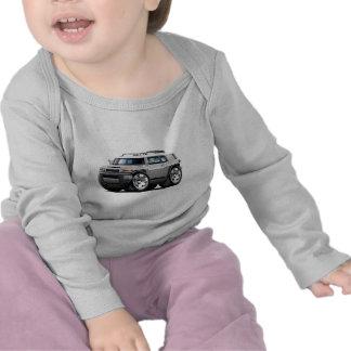 Fj Cruiser Silver Car T-shirts