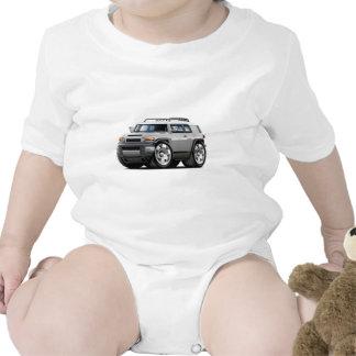 Fj Cruiser Silver Car Baby Bodysuit