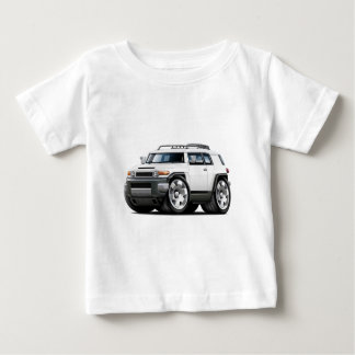 Fj Cruiser White Car Baby T-Shirt
