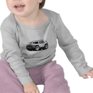 Fj Cruiser White Car T Shirts