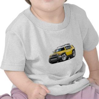 Fj Cruiser Yellow Car T-shirts
