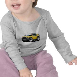 Fj Cruiser Yellow Car Tee Shirts