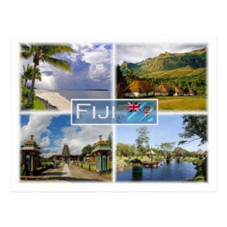 FJ Fiji - Postcard