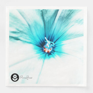 FʟᴏᴡPᴏᴡ | Bindweed ~ Turquoise Disposable Napkin