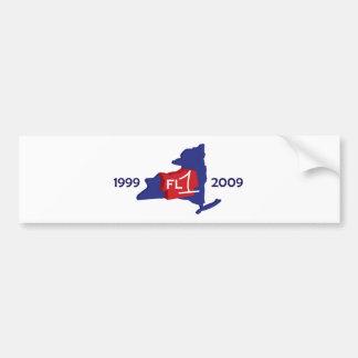 FL1 10th Anniversary Bumper Sticker