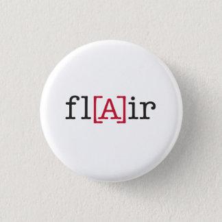 fl[A]ir 3 Cm Round Badge