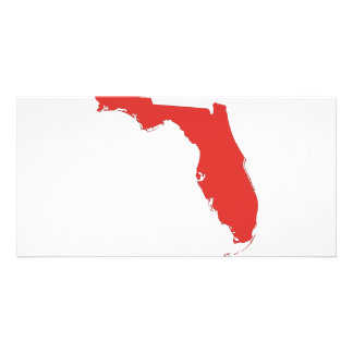 FL a RED State Picture Card