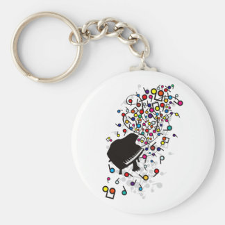 Flabby_Expression Basic Round Button Key Ring