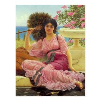 Flabellifera - Vintage - Godward Postcard