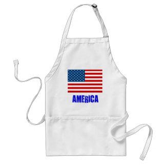 Flag America Apron