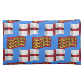 Flag and Banner of England Cosmetics Bags