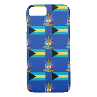 Flag and Crest of the Bahamas iPhone 7 Case