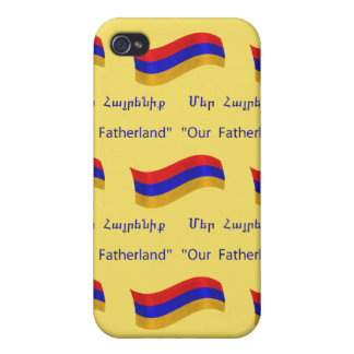 Flag and National Anthem of Armenia iPhone 4 Case