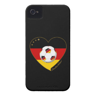 Flag and national team of SOCCER GERMANY 2014 iPhone 4 Case-Mate Cases