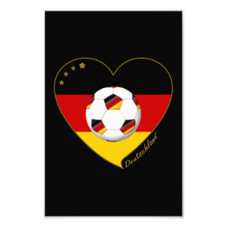 Flag and national team of SOCCER GERMANY 2014 Photograph