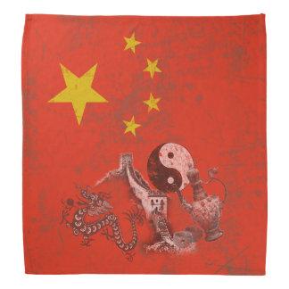 Flag and Symbols of China ID158 Bandana