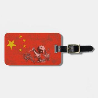 Flag and Symbols of China ID158 Luggage Tag