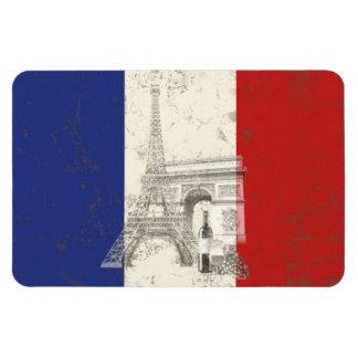 Flag and Symbols of France ID156 Magnet