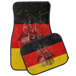 Flag and Symbols of Germany ID152 Car Mat
