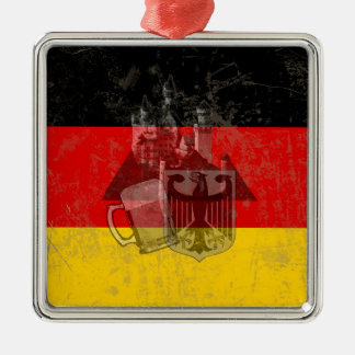 Flag and Symbols of Germany ID152 Christmas Ornament