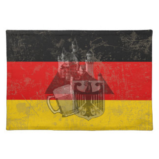 Flag and Symbols of Germany ID152 Placemat