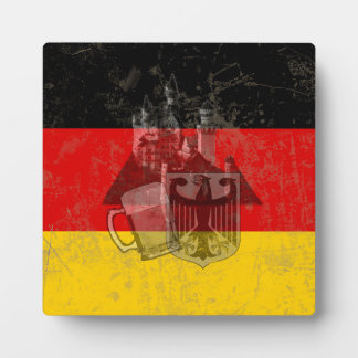 Flag and Symbols of Germany ID152 Plaque