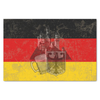 Flag and Symbols of Germany ID152 Tissue Paper