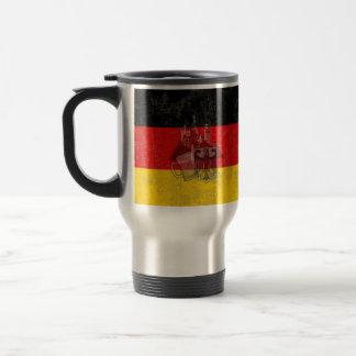 Flag and Symbols of Germany ID152 Travel Mug