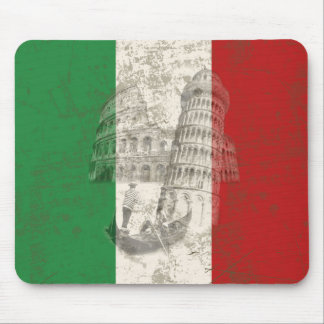 Flag and Symbols of Italy ID157 Mouse Mat