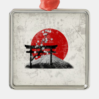Flag and Symbols of Japan ID153 Christmas Ornament