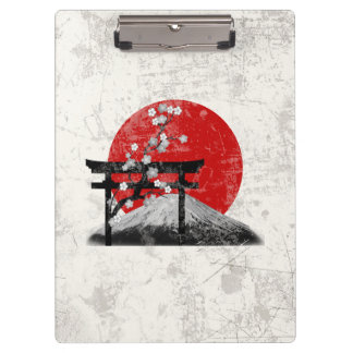 Flag and Symbols of Japan ID153 Clipboard