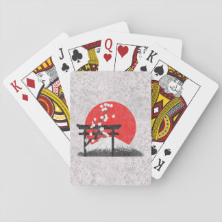 Flag and Symbols of Japan ID153 Poker Deck