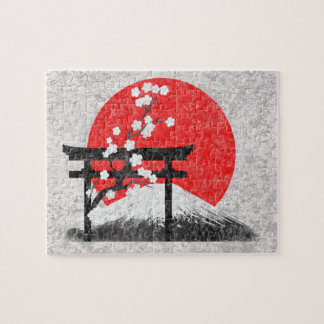 Flag and Symbols of Japan ID153 Puzzles