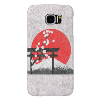 Flag and Symbols of Japan Samsung Galaxy S6 Cases