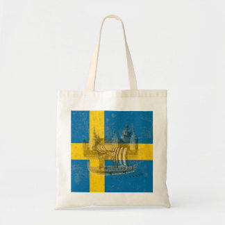 Flag and Symbols of Sweden ID159 Tote Bag