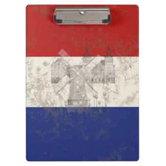 Flag and Symbols of the Netherlands ID151 Clipboard