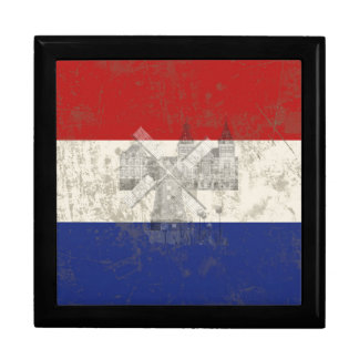 Flag and Symbols of the Netherlands ID151 Gift Box