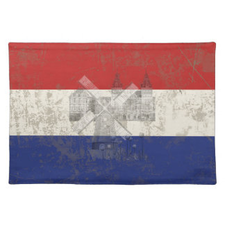 Flag and Symbols of the Netherlands ID151 Placemat