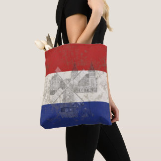 Flag and Symbols of the Netherlands ID151 Tote Bag